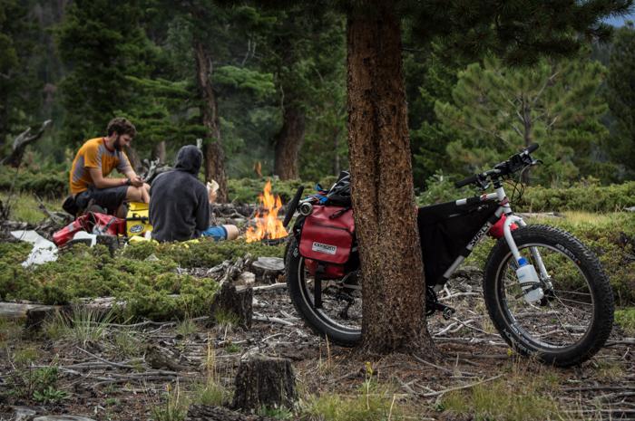 Camped Above Estes