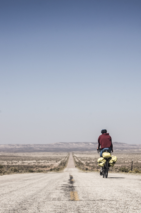 Jonny Heading Into the Great Divide Basin