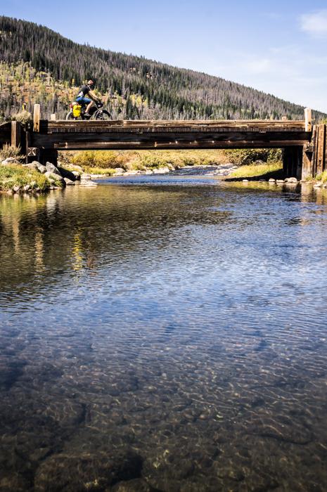 Stream Crossing Near Union Pass