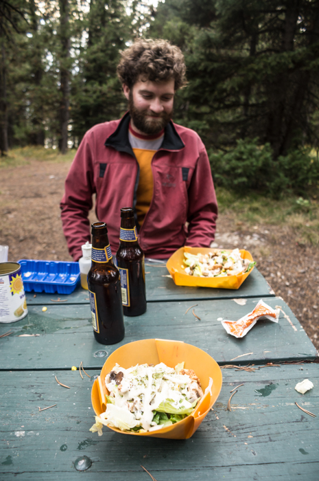 Dave and Dinner in GTNP