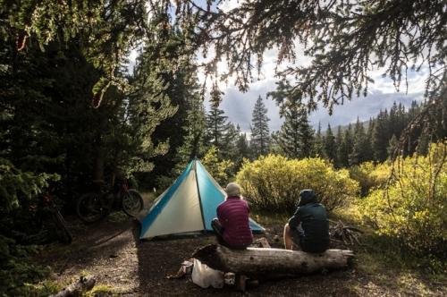Afternoon Camp Near Kokomo Pass