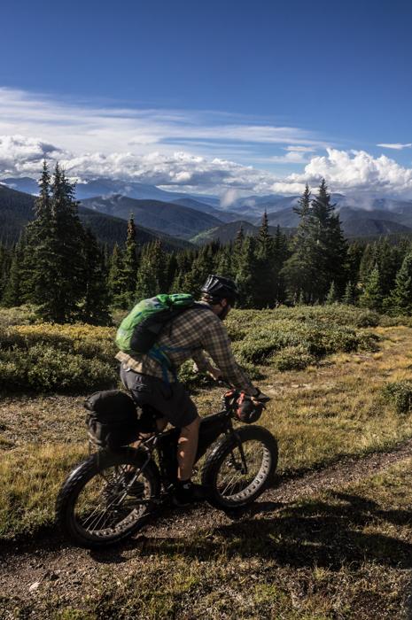 Dave Descending Georgia Pass