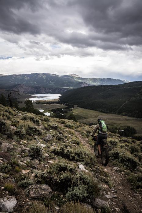 Descending to Clear Creek Resevoir