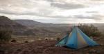 Campsite Along the West-Rim