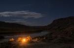 Camp Along the Colorado River