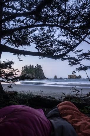 Second Beach Camping - ONP