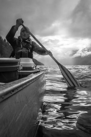 Grete Canoeing
