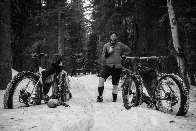 Dave, fatbikes, and tea