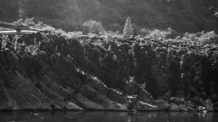 Riverside Lava Formations