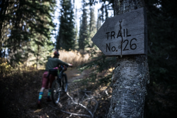 Trail No. 26 - The Whitefish Divide - The Real Deal