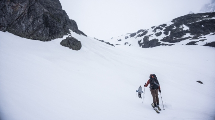 Heading For the Glacier