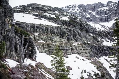 Glacier Basin above Sperry Chalet