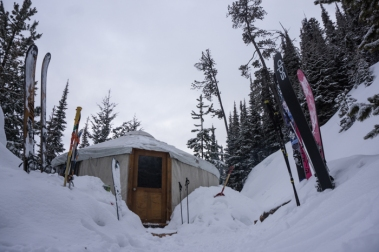 Our Cozy Little Lupine Yurt