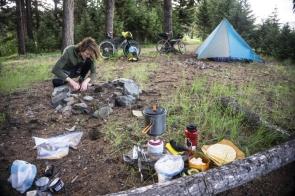 Camp At Island Lake